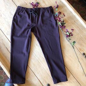 Lululemon pants size 10 Plum pockets